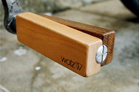 Wotz four-sided wooden pedal