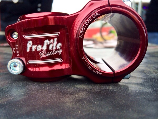 SOC14: New American Made Helm MTB Stems from Profile Racing
