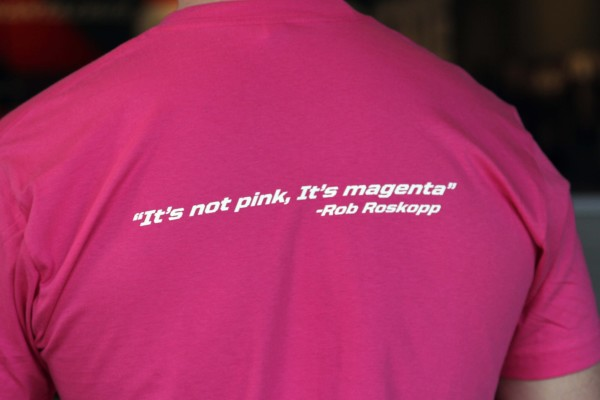 It's Not Pink, It's Magenta Nomad Shirt