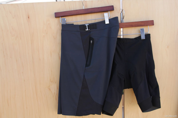 Kitsbow Hot Weather Short and Chamois detail