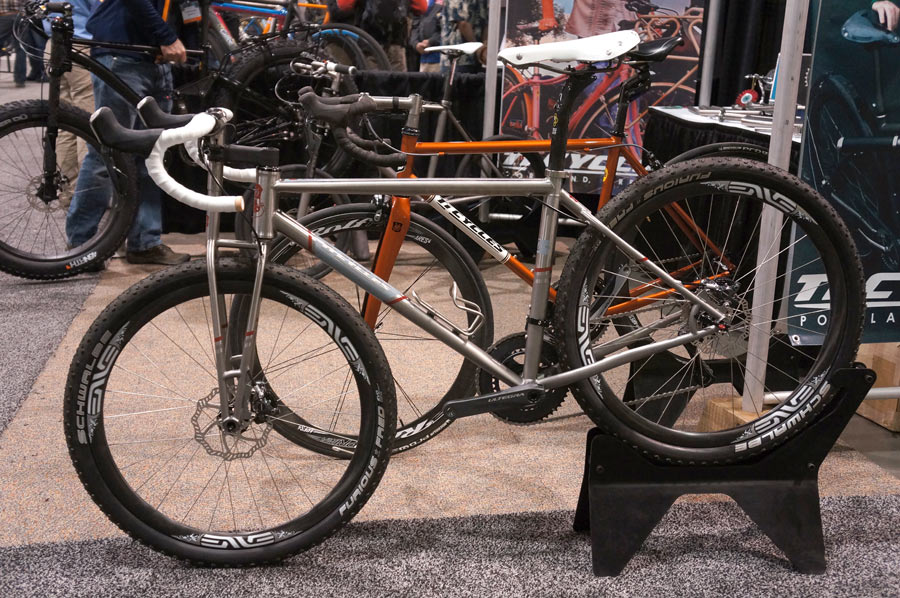 Nahbs 2014 Ti Cycles Full Suspension Fat Bike 26