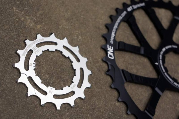 OneUp Components 16t replacement cog for cassette upgrades to oversized large cogs