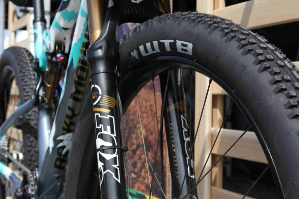 Rocky Sherpa and Prototype WTB 2.8 Trail boss tires