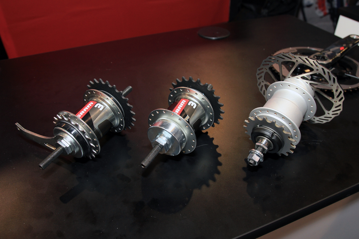 Sram Kicks Back With 3 Speeds For Wbr And A Hub That Can