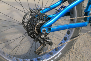 Salsa Buzz Saw full suspension fat bike Whisky prototype carbon rim   (38)