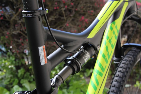 Specialized Stumpjumper 650B Comp Dropper Post Routing