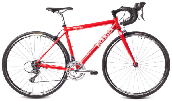 Farrier Stayer 650c youth road bike with Shimano STI drivetrain