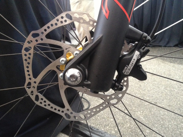 new Hayes Radar hydraulic disc brakes get mineral oil and revised bladder