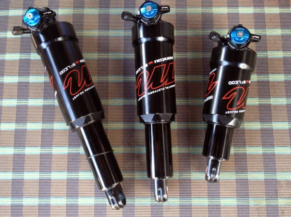 2015 Manitou McLeod rear air shock for mountain bikes - internal parts actual weights and tech details