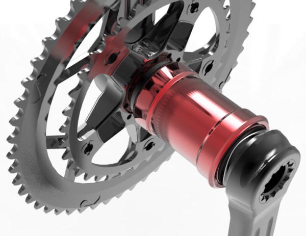 BBinfinite pressfit bottom brackets with direct fit BB30-to-24mm bearings for Shimano and Campagnolo