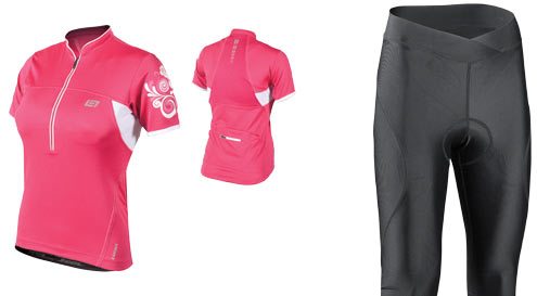 Bellwether Impulse womens cycling jersey and bibshorts