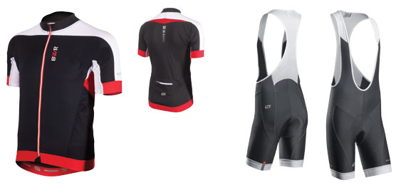 Bellwether Optime mens cycling jersey and bibshorts