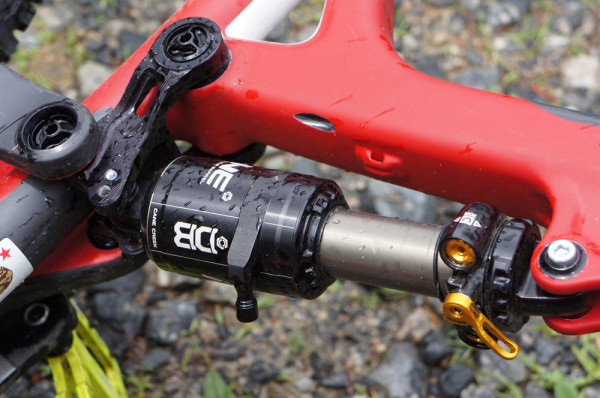 Cane Creek Double Barrel Inline mountain bike shock for 120mm to 150mm travel mountain bikes