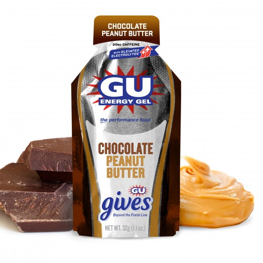 Chocolate Peanut Butter GU Gives