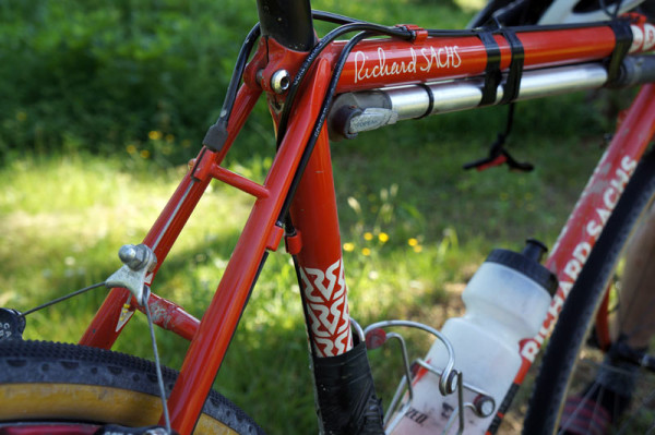 Richard Sachs personal cyclocross race bike for Ballers Ride