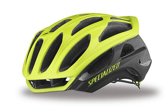 S-Works Prevail Limited Edition Color Dipped High-Viz Helmet