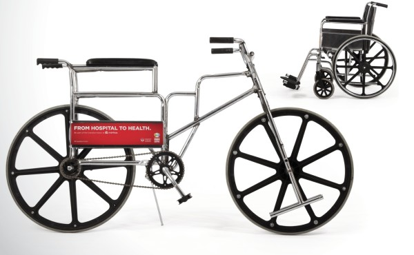 Wheelchair to Bicycle