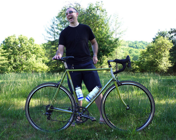 ballers ride chris bishop personal lugged road bike