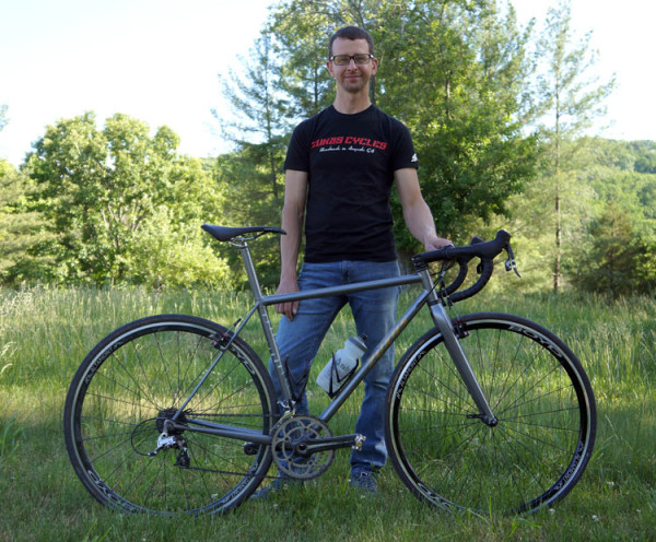 Ballers Ride Nate Zukas personal cyclocross bike