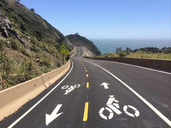 bikerumor pic of the day devil's slide bike trail pacific coast highway