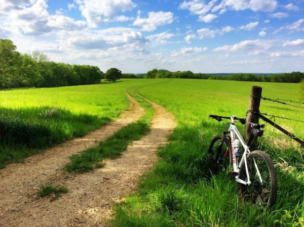 bikerumor pic of the day cycling on A beautiful day of riding in Lenexa KS.