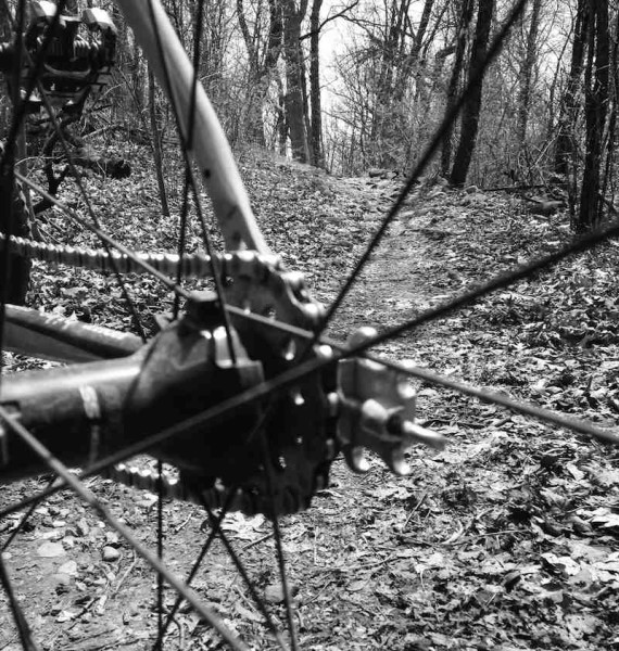 bikerumor pic of the day Kettle Moraine in southern Wisconsin