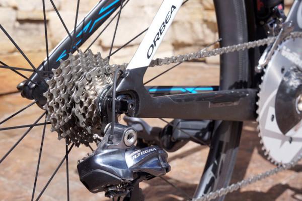 2015 Orbea Ordu OME triathlon bike and UCI legal TT road bike