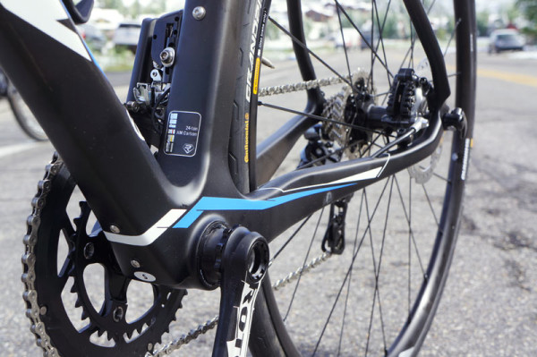 2015 Ridley Fenix endurance disc brake road bike