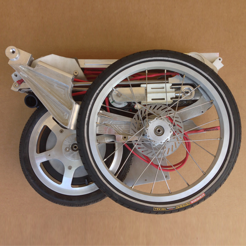 Bike intermodal smallest folding bike  (1)