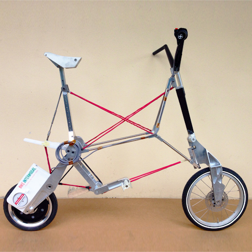 Bike intermodal smallest folding bike  (3)