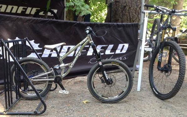 Five Inches of Travel For Junior? Canfield's Prototype KDH Bike Makes It Happen