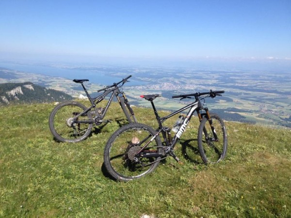 bikerumor pic of the day aiguilles de Baulmes in Switzerland