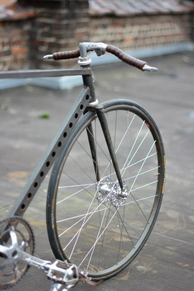 McFly Custom Apache Racer Front Triangle