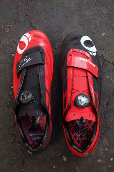 Pearl Izumi Tejay van Garderen P.R.O. Leader II limited edition shoes (1)