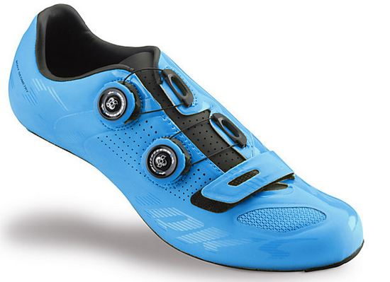S-works Color Dipped Neon Blue Specialized Road Shoe