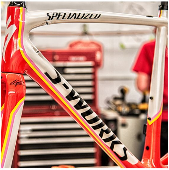 Specialized Limited Edition S-Works Contador Tarmac 2014 Grand Tour Colors