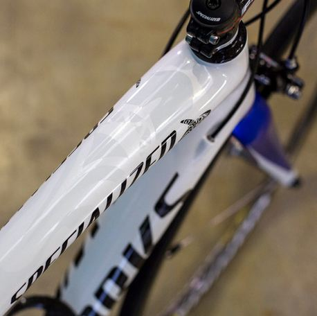 Specialized Limited Edition S-Works Nibaldi Tarmac 2014 Top Tube Details