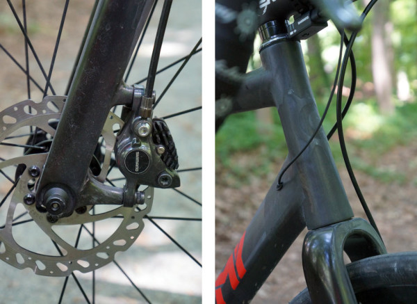 Alchemy Aithon gravel road bike exclusive first ride review and actual weights