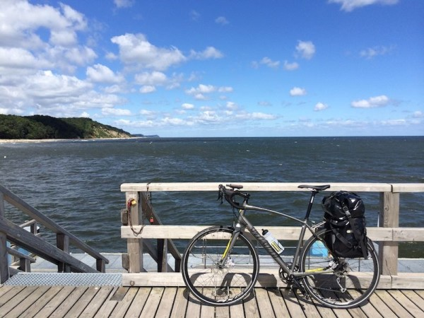 bikerumor pic of the day Usedom island, Germany