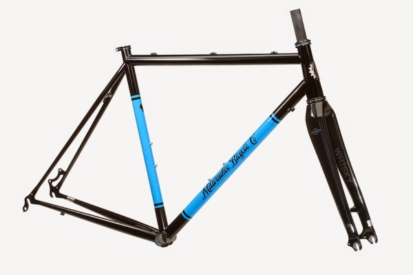 Milwaukee Bicycle Co Mettle Cyclocross Disk Brake Frame
