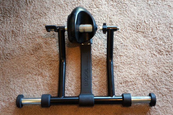 bkool bicycle trainer with online ride simulator and user uploaded video and GPX tracks