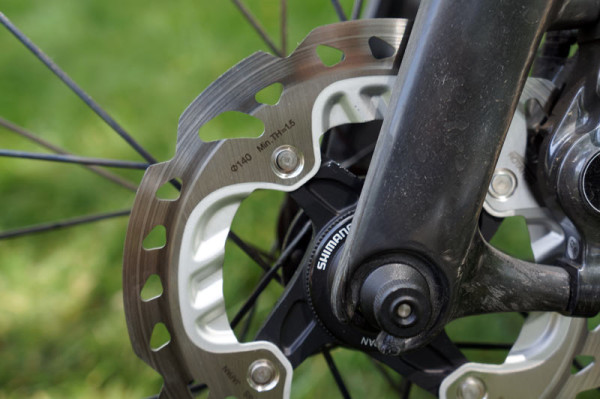 shimano r785 hydraulic road disc brakes ride review