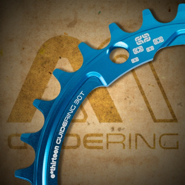 e-thirteen 30-tooth guidering M narrow-wide chainring