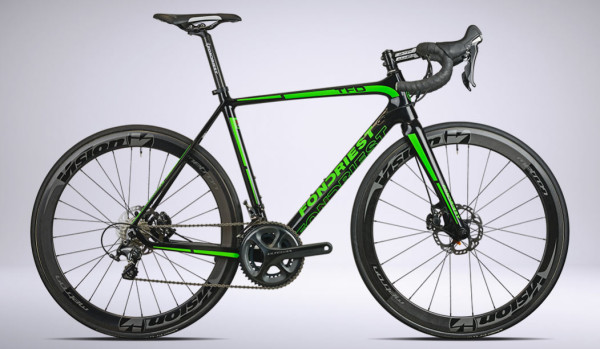 2015 Fondriest TFD disc brake road bike