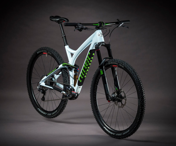 2015 Niner RIP 9 RDO 29er mountain bike gets new carbon compaction frame construction and white-green colorway