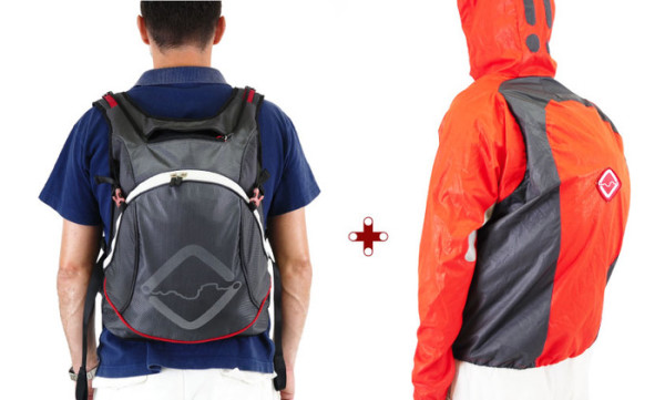 Funnell Eject Jacket and Backpack