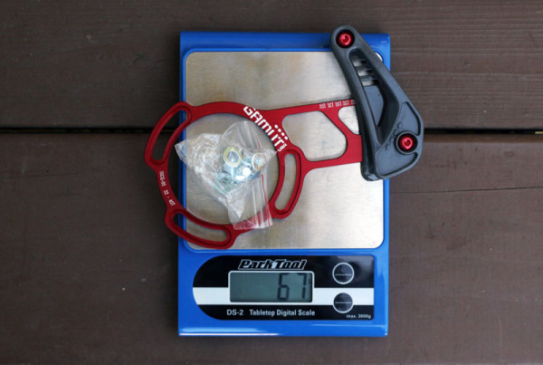 Gamut SXC Trail Guide Actual Weight Scale Shot (1)