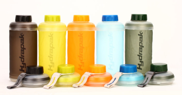 Hydrapak stash Collapsible Bottles Colors