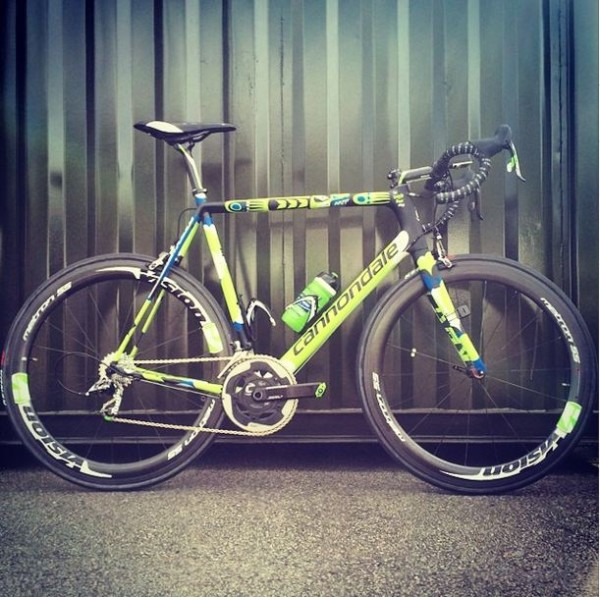 I Am Ted King 2014 Tour de France Cannondale Pro Cycling Team