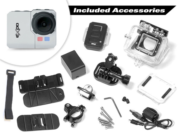 Pyle_eXpo_HD_action_camera_included_accessories